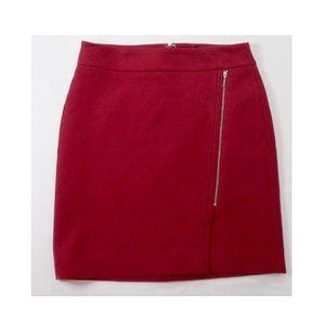 WHBM |  Dark Red Skirt